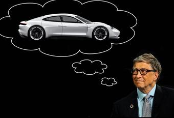 Bill Gates wil geen Tesla, koopt elektrische Porsche Taycan #1