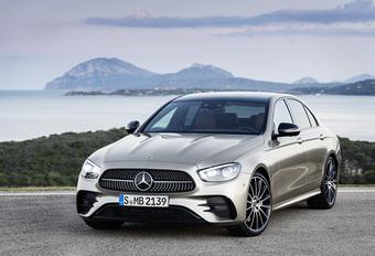 Facelift Mercedes E-Klasse wordt slanker en slimmer #1