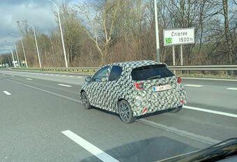 Toekomstige Toyota Aygo betrapt in Crisnée #1
