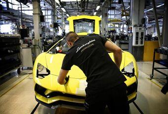 L'usine Lamborghini à l'arrêt #1