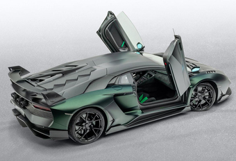 Lamborghini Aventador SVJ wordt nog snellere Cabrera #1
