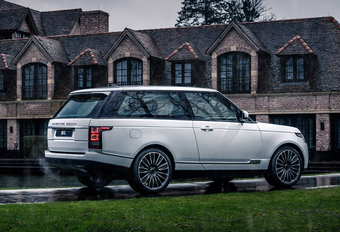 Adventum Coupé is coachbuild op basis van Range Rover #1