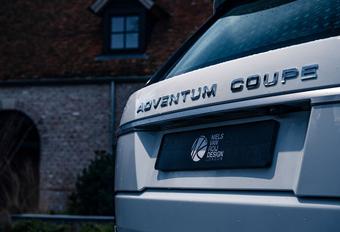 Range Rover Coupé maakt comeback als Adventum #1