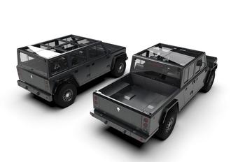 Bollinger biedt E-chassis te koop aan #1