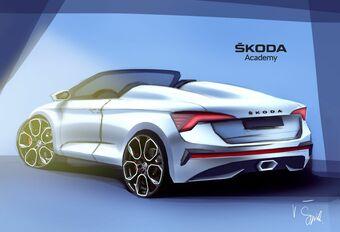 Škoda : l'académie prépare une Scala Spider #1