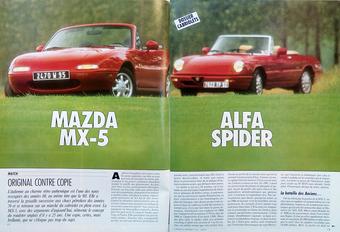 Comparo rétro: Alfa Romeo Spider vs. Mazda MX-5 (1990) #1