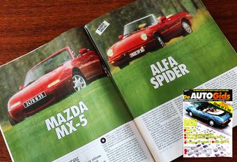 Retroduel: Alfa Romeo Spider vs. Mazda MX-5 (De AutoGids 1990) #1