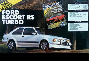 Que pensait Le Moniteur Automobile de la Ford Escort RS Turbo en 1985 ? #1