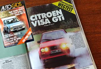 Wat vond (De) AutoGids in 1985 van de Citroën Visa GTi? #1