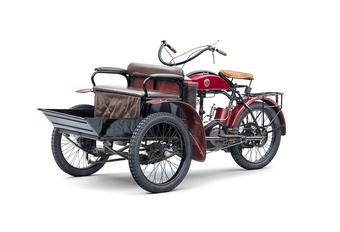 Le saviez-vous ? Škoda a fabriqué des tricycles à moteur en 1905 #1