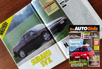 Wat vond (De) AutoGids in 1992 van de Subaru SVX? #1