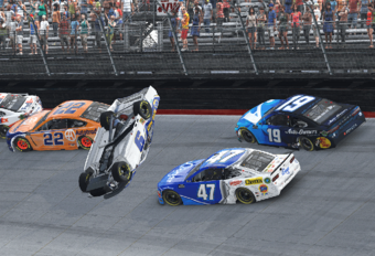 NASCAR-racer rage quit virtuele race, verliest echte sponsor #1
