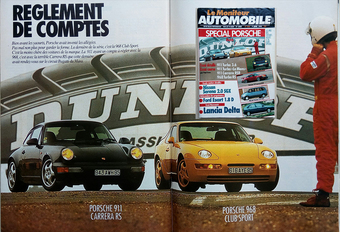 Que pensait Le Moniteur de la Porsche 911 RS et la 968 CS en 1993? #1
