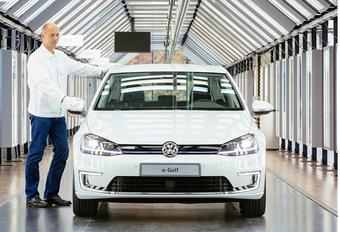 La VW e-Golf prolongée suite aux soucis électriques de l'ID.3 #1