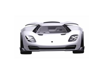 Is dit de nieuwe hypercar van Porsche voor Le Mans? #1