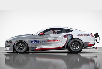 Ford Mustang Cobra Jet 1400 is 100% elektrische dragster #1