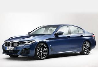 Gelekt: facelift BMW 5 Reeks (2020) #1