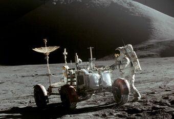 Saviez-vous que ? On a roulé en voiture sur la Lune #1