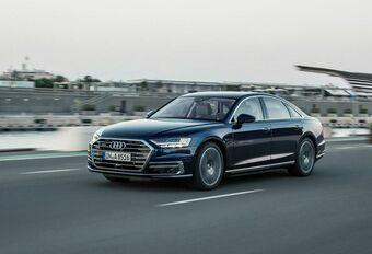 Audi A8 : conduite autonome annulée #1