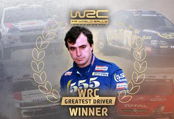 Carlos Sainz verkozen tot beste rallyrijder ooit #1