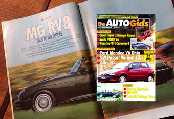 Wat vond (De) AutoGids in 1994 van de MG RV8? #1