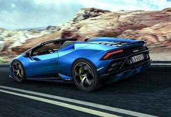 Lamborghini heeft zin in de zomer met de Huracán EVO RWD Spyder #1
