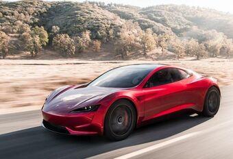 Tesla Roadster komt pas in 2022 #1