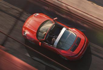 Porsche 911 Targa : nouvelle génération #1