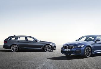 BMW stelt facelift 5 Reeks officieel voor #1