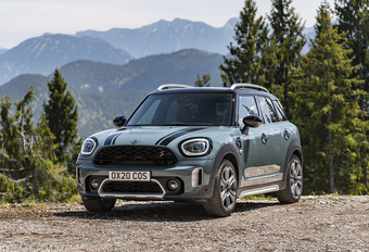 Mini Countryman : modestes retouches #1