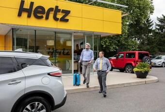 Hertz failliet verklaard in Noord-Amerika #1