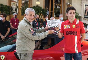 Charles Leclerc filmt nieuwe 'C'était un rendez-vous' in Monaco #1