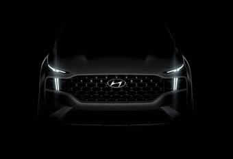 Hyundai Santa Fe: na 2 jaar al nieuwe generatie op komst #1