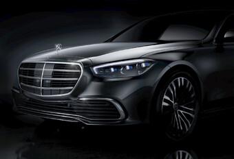 Mercedes S-Klasse: nieuw gezicht #1