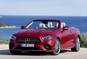 Facelift voor de Mercedes E als Cabriolet en Coupé #1