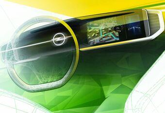 Het digitale dashboard van de Opel Mokka #1