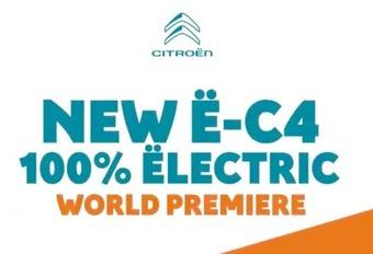 Citroën ë-C4 : la C4 électrique #1