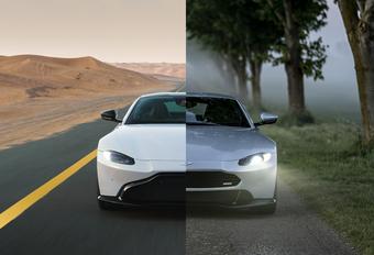Aston Martin Vantage krijgt oude neus van tuner. Beter? #1