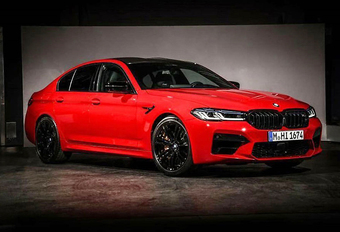 Gelekt: facelift BMW M5 Competition #1