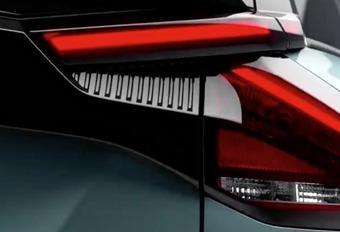 Citroën ë-C4 : bout de feu arrière #1