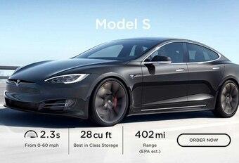 Tesla Model S Long Range Plus : quasi 650 km selon l'EPA #1