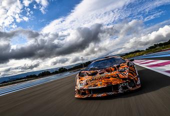 Lamborghini SCV12 : première séance photos pour l'hypercar de la Squadra Corse #1