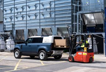 Land Rover Defender lichte vracht heet Hard Top, komt eind 2020 #1
