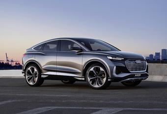 Audi Q4 Sportback e-tron concept: afspraak in 2021 #1