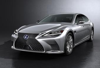 Lexus LS krijgt subtiele facelift #1