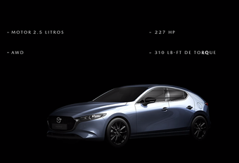 Mazda 3: avec un 2.5 turbo en Amérique #1
