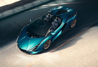 Officieel: Lamborghini Sian Roadster #1
