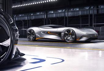 Jaguar EV-Type wordt elektrische sportwagen #1