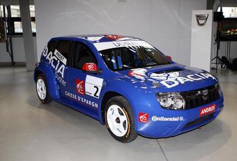 Dacia Duster dévoilé par la course #1