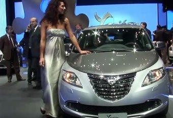 Vidéo Genève : Lancia Ypsilon #1